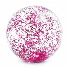 Glitter strandbal (Roze)