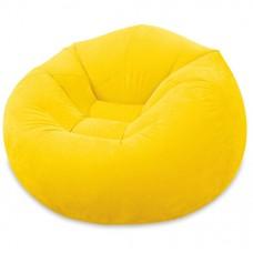 Intex Beanless Bag -  Comfortabele lounge stoel (Geel)