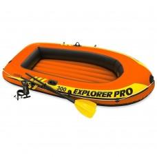 Intex Explorer Pro 300 Set - Met peddels en pomp