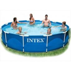 Intex Metal Frame zwembad 366 x 76 cm - Zonder filterpomp