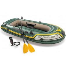 Intex Seahawk 2 Set - Tweepersoons opblaasboot