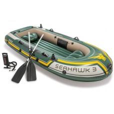 Intex Seahawk 3 Set - Driepersoons opblaasboot