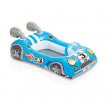 Intex zwembad kinderbootje-Raceauto-Blauw