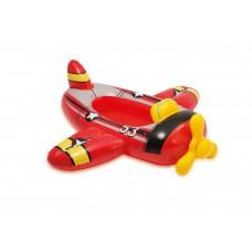 Intex zwembad kinderbootje-Vliegtuig-Rood