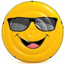 Mega Smiley luchtbed