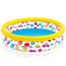 Opblaasbaar zwembad 'Cool Dots' (middelgroot)