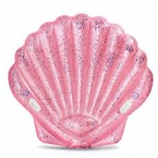 Roze zeeschelp luchtbed
