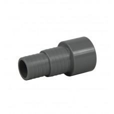 Slangtule 50 mm met 38/32 mm verloop